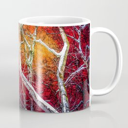 Red winter night Coffee Mug
