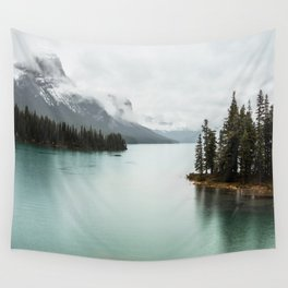 Landscape Photography Maligne Lake Wall Tapestry