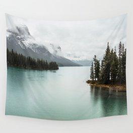 Landscape Photography Maligne Lake Wall Tapestry