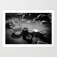 poker Art Prints featuring Poker Time by Eduard Leasa Photography