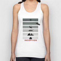 inception Tank Tops featuring Inception by Duck Cartel