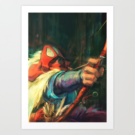 The Young Man from the East Art Print