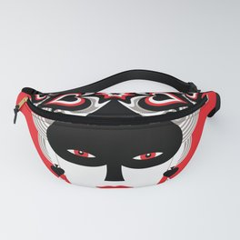 The Queen of spades Fanny Pack