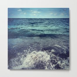 The Sea, She Speaks! Metal Print