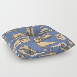 Paleontology Floor Pillow
