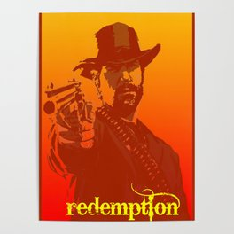 red dead Poster