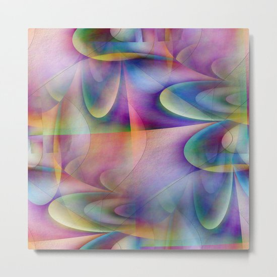 Multicolored abstract no. 72 Metal Print