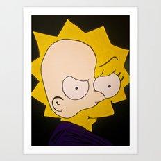 Phantom of Springfield Art Print