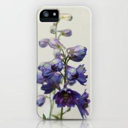Delphinium iPhone Case