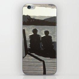Gold Pond iPhone Skin