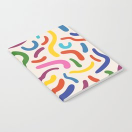 Colorful mess Notebook