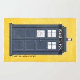 9th Doctor - DOCTOR WHO Rug