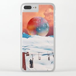 strawberry whipped cream Clear iPhone Case