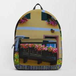 Austrian Flower Boxes Backpack