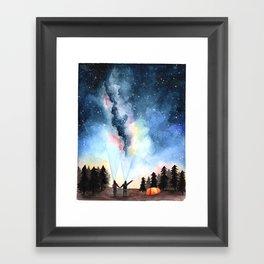 Galaxy Artwork Framed Art Print