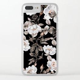 Winter Garden Clear iPhone Case