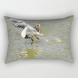 Bird Flexibility Rectangular Pillow
