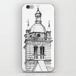 Campanile della  cattedrale di Genova iPhone Skin