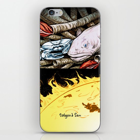 Life on the event horizon 2 iPhone & iPod Skin