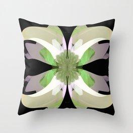 La Buena Flor Throw Pillow