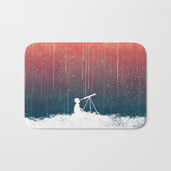 Meteor Rain (light version) Bath Mat