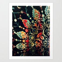 Textile Pattern Art Print