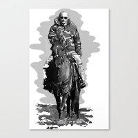 putin Canvas Prints featuring Putin cool by Valentina