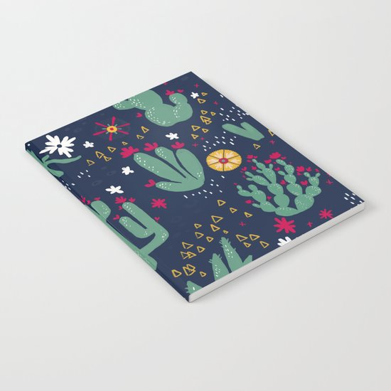 Cactus Blossoms  Notebook