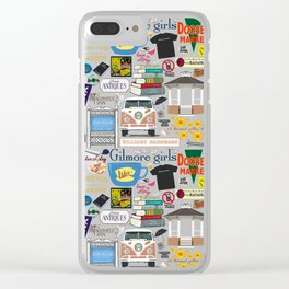 Gilmore Girls Fanatic Clear iPhone Case