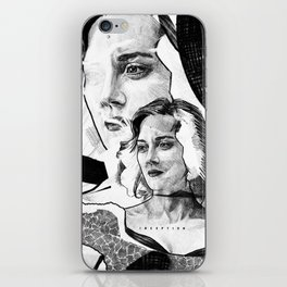 Marion Cotillard in Inception - Movie Inspired Art iPhone Skin