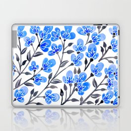 Cherry Blossoms – Blue Palette Laptop & iPad Skin