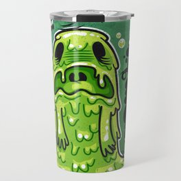 Cartoon Nausea Monster Travel Mug