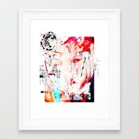 fault Framed Art Prints featuring FAULT LINE by JAMES JAEGER