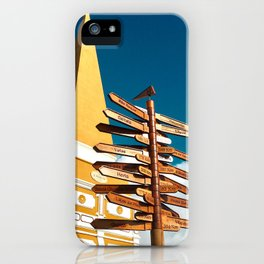 Any Direction iPhone Case