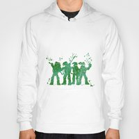 teenage mutant ninja turtles Hoodies featuring Teenage Mutant Ninja Turtles by Carma Zoe