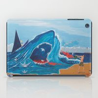 carnage iPad Cases featuring Simulating   a carnage by Lázaro Hurtado Art