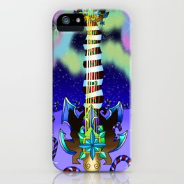 Fusion Keyblade Guitar #143 - Decisive Pumpkin & Diamond Dust iPhone Case
