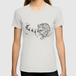 Ink Snow Leopard T-shirt