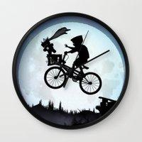E.T Kid Wall Clock