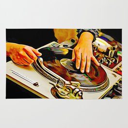 TURNTABLISM: MOVE THE CROWD! Rug