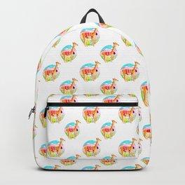 Llama andina Backpack