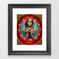 Madam Octavia  Framed Art Print