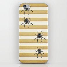 Descending Spiders iPhone & iPod Skin