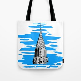 Shine like the top of the Chrysler Building! Tote Bag