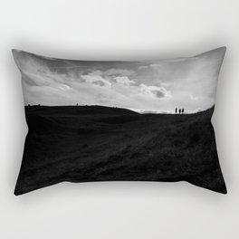 Hill Climbing Rectangular Pillow
