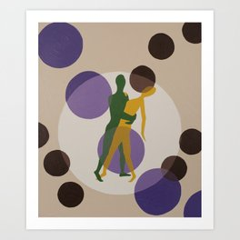 Dancing in the Moonlight #1 Art Print