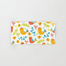 Easter Little Peeps Baby Chicks Pattern Hand & Bath Towel