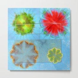 Views Vulnerable Flowers  ID:16165-125337-96091 Metal Print