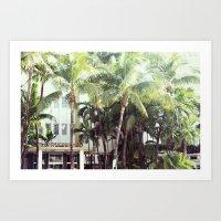 The Richmond Hotel (Miami) Art Print