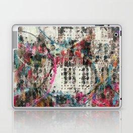 Analog Synthesizer, Abstract painting / illustration Laptop & iPad Skin